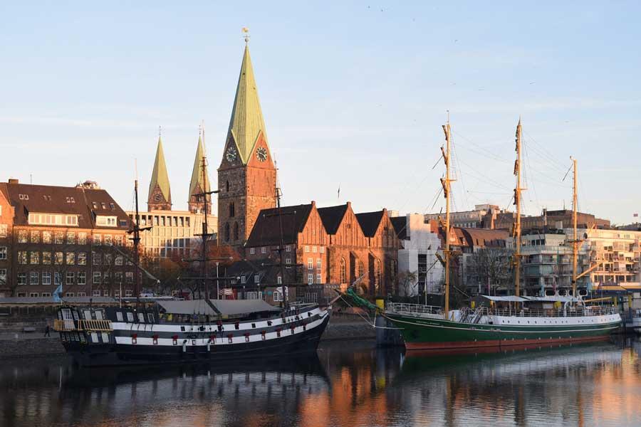 Sehenswürdigkeiten in Bremen - Große Schlachte