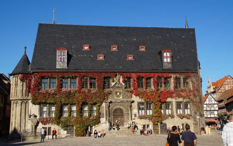 Quedlinburger Rathaus - Sehenswürdigkeiten in Quedlinburg