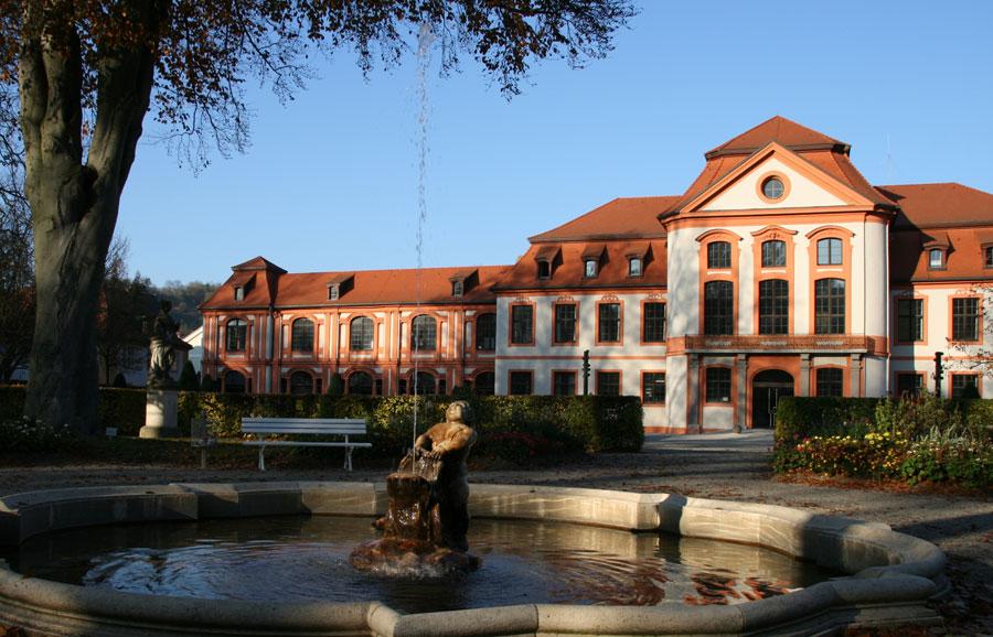 Sommerresidenz und Hofgarten in Eichstätt