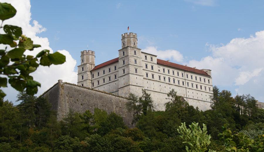 Willbaldsburg - auffällige Sehenswürdigkeiten in Eichstätt
