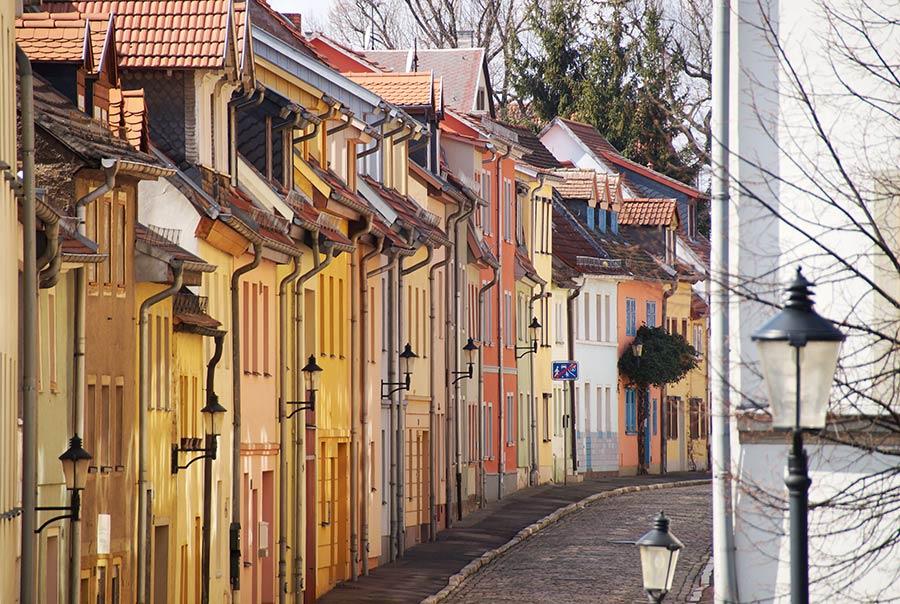Altstadtstraße in Naumburg