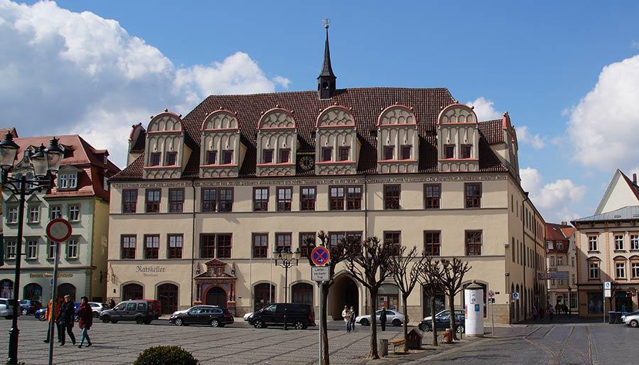 Sehenswürdigkeiten in Naumburg - Rathaus von Naumburg