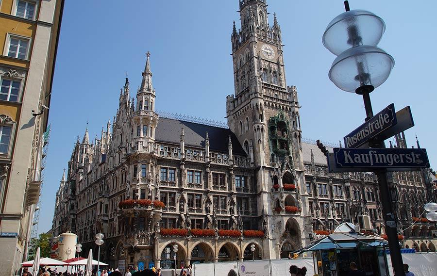 Sehenswürdigkeiten in München - Rathaus