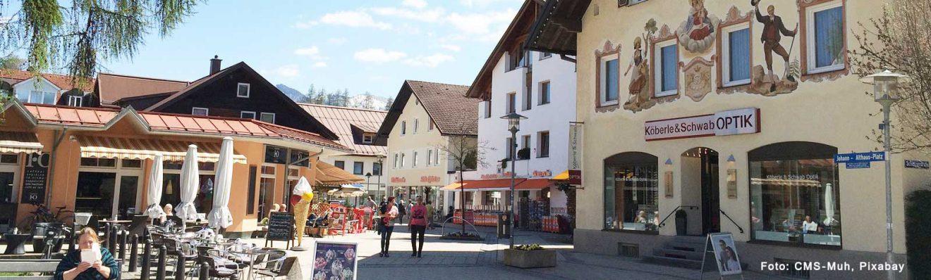 Sonthofen – südlichste Stadt Deutschlands