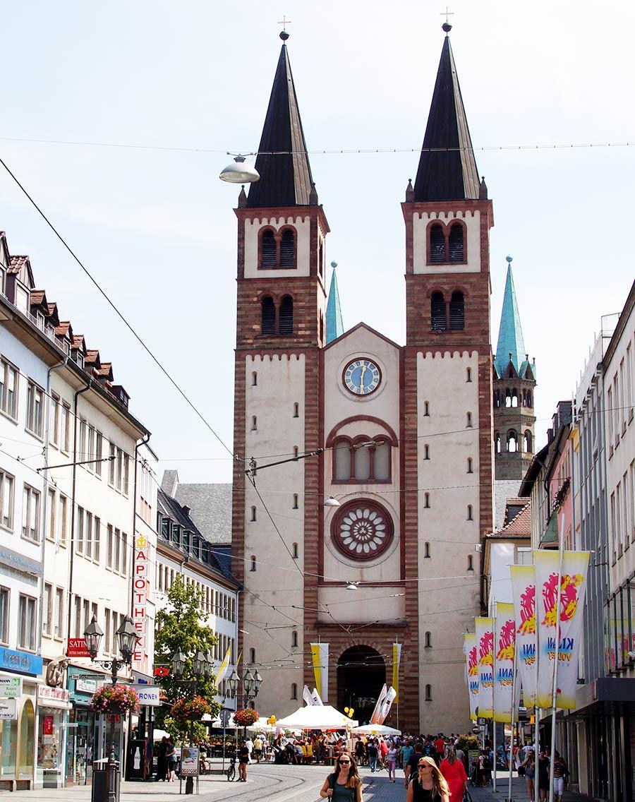 Sehenswürdigkeiten in Würzburg - Dom St. Kilian