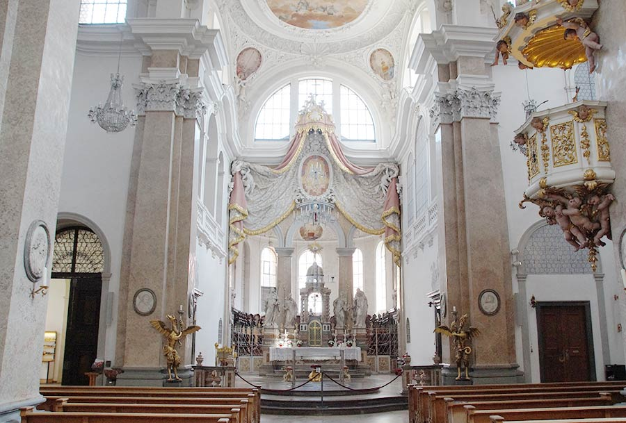 St. Mang in der Altstadt von Füssen