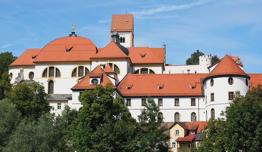 Sehenswürdigkeiten in Füssen - St. Mang