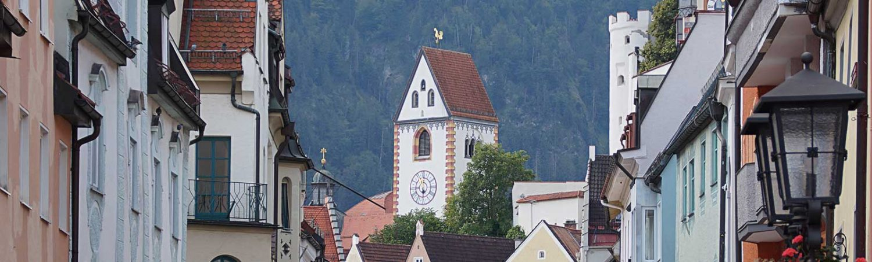 Die Altstadt von Füssen – eine Städtereise
