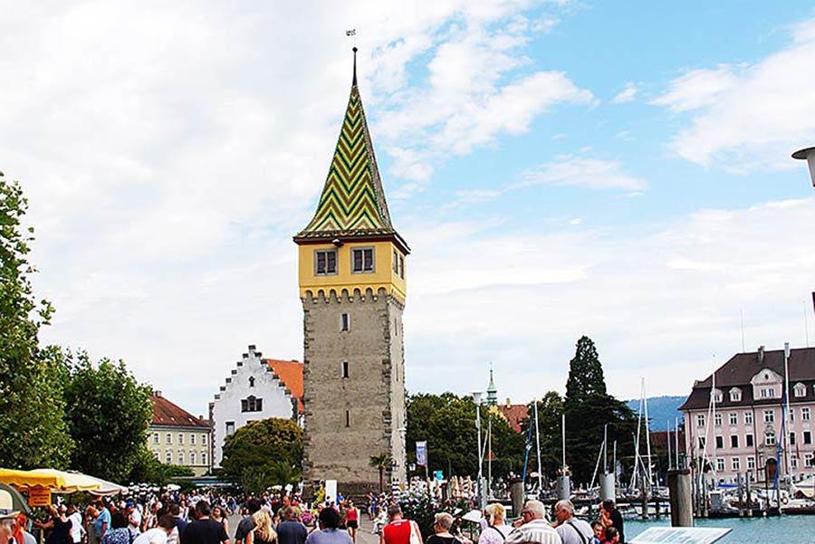 Sehenswürdigkeiten in Lindau - Mangturm