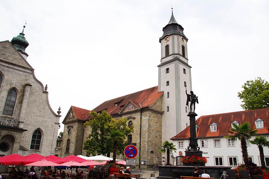 Sehenswürdigkeiten in Lindau - Unserer Lieben Frau