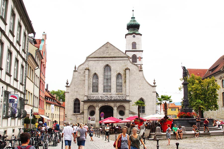 Pfarrkirche St. Stephan - Sehenswürdigkeiten in Lindau