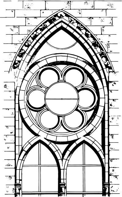 Gotik Fenster