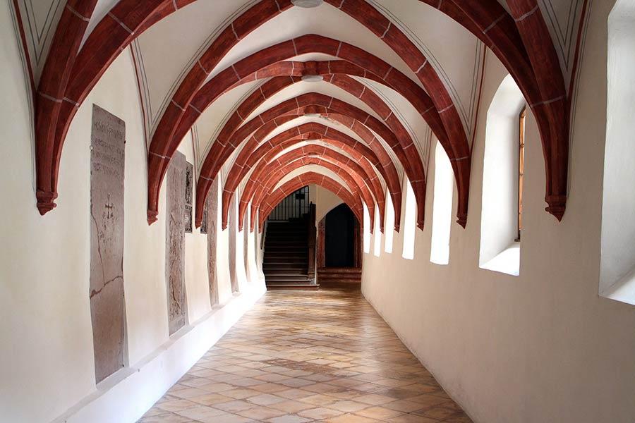 Kreuzrippengewöbe in der Gotik