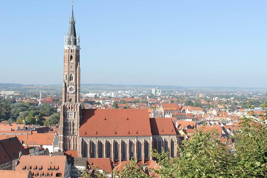 Gotik Kathedrale in Landshut