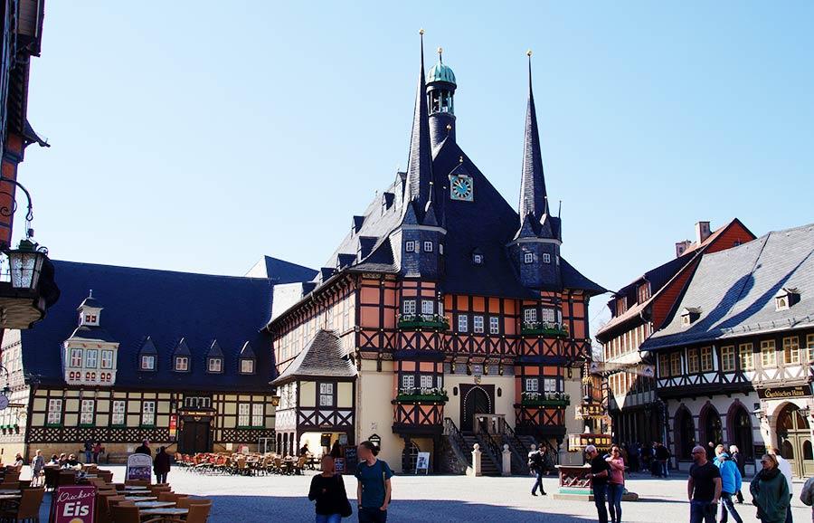Sehenswürdigkeiten von Wernigerode - das Rathaus