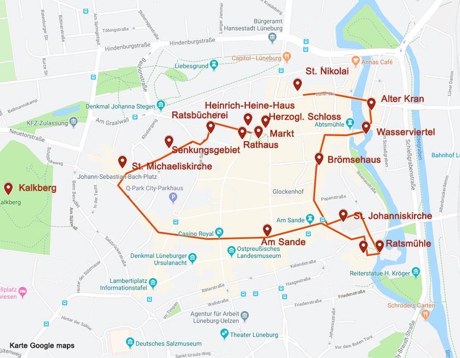 Sehenswürdigkeiten in Lüneburg