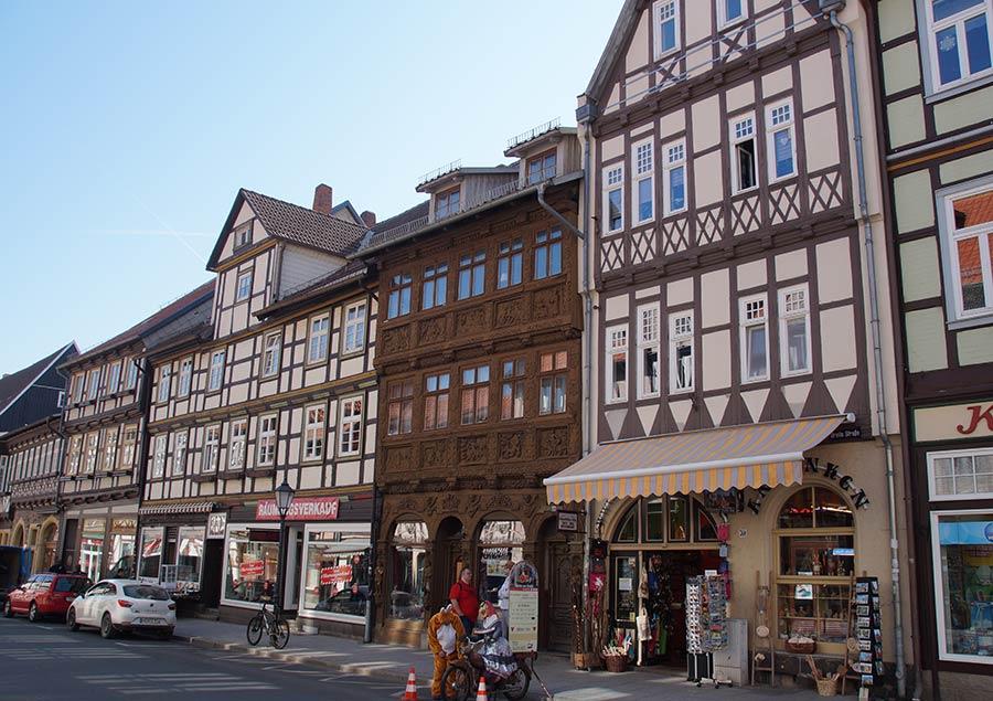 Fachwerkhäuser in der Altstadt von Wernigerode