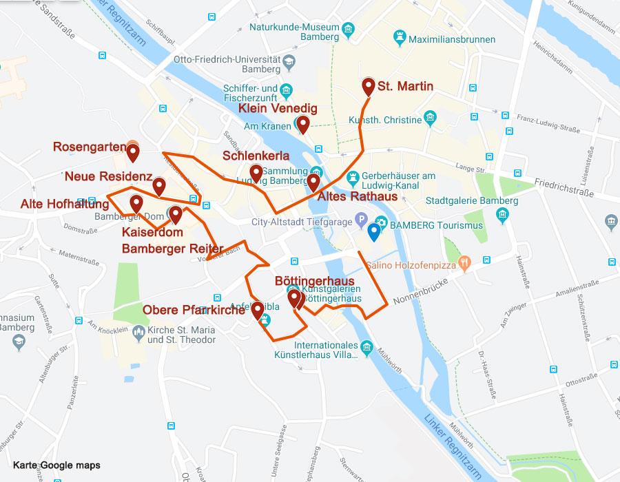 Sehenswürdigkeiten in Bamberg