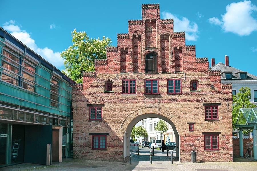 Die nördlichste Stadt in Deutschland mit dem Nordertor