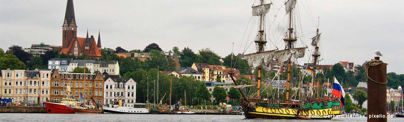 Flensburg – nördlichste Stadt Deutschlands