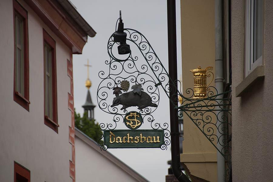 Restaurant in der Altstadt von Fulda