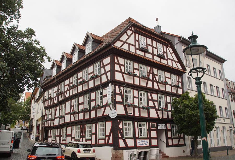 Geburtshaus Ferdinand Brauns in der Altstadt von Fulda