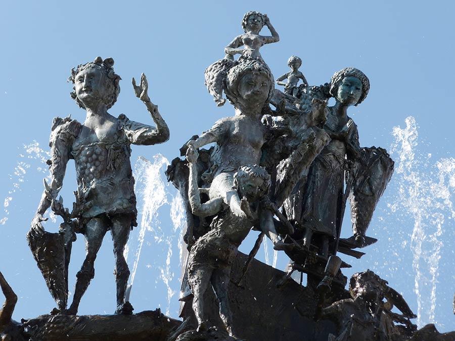 Sehenswürdigkeiten von Mainz - Fastnachtsbrunnen