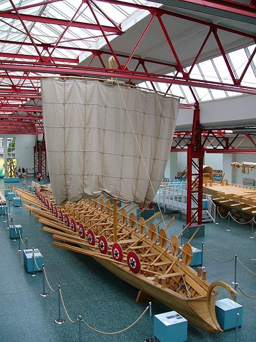 Museum für antike Schifffahrt in Mainz