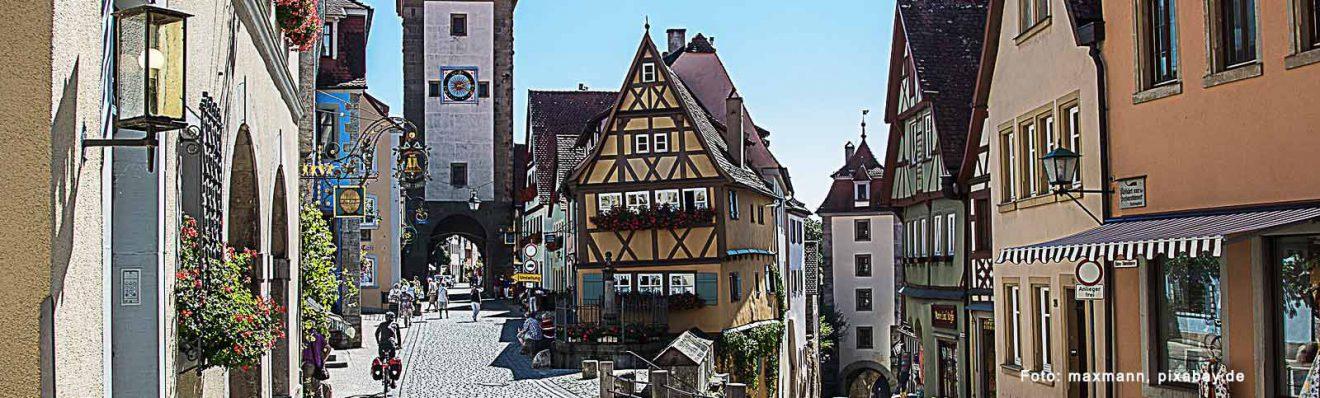 Die Altstadt von Rothenburg – eine Städtereise