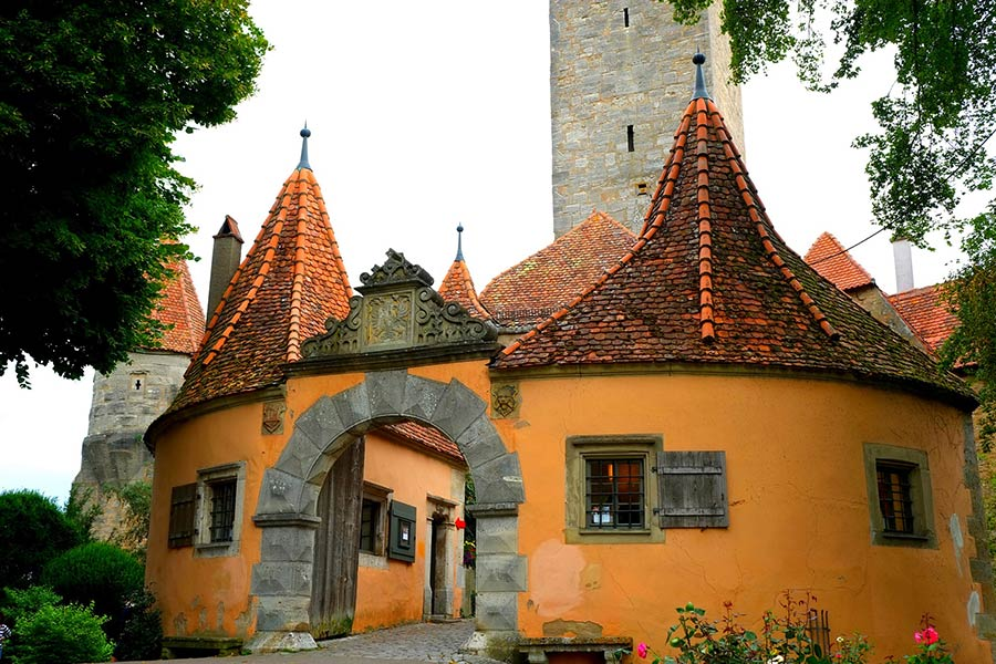 Sehenswürdigkeiten in Rothenburg ob der Tauber - Burgtor