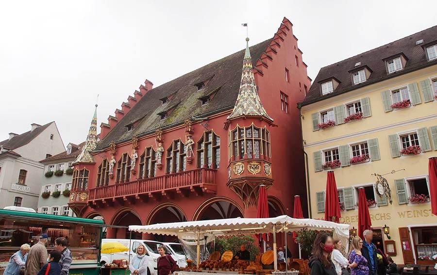 Eine der schönsten Sehenswürdigkeiten in Freiburg
