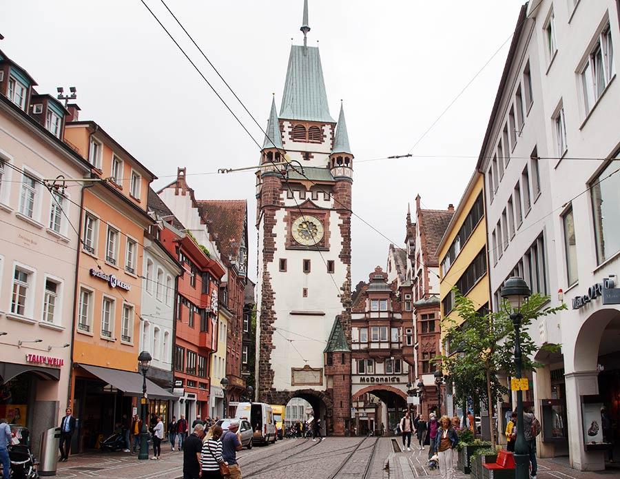 Sehenswürdiekeiten in Freiburg - Martinstor