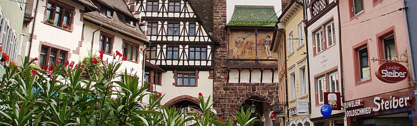 Die Altstadt von Freiburg – eine Städtereise