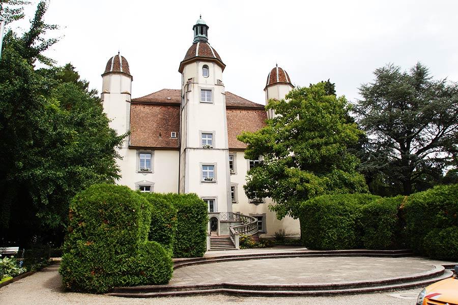 Trompeter von Säckingen - Schloss Schönau, auch Trompeterschlösschen genannt