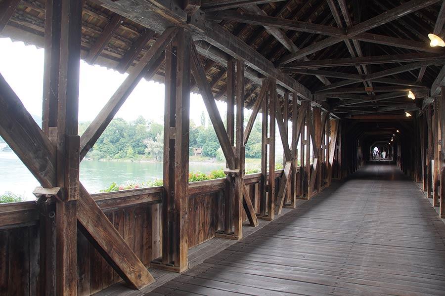 Sehenswürdigkeiten in Bad Säckingen - Alte Rheinbrücke