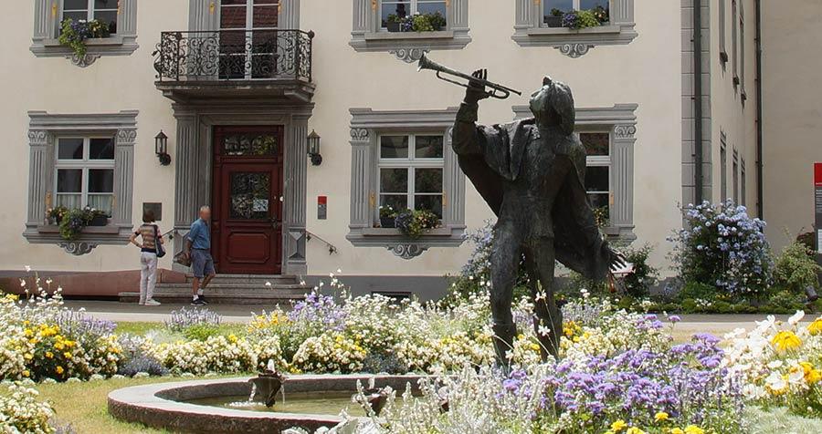 Statur des Trompeter von Säckingen