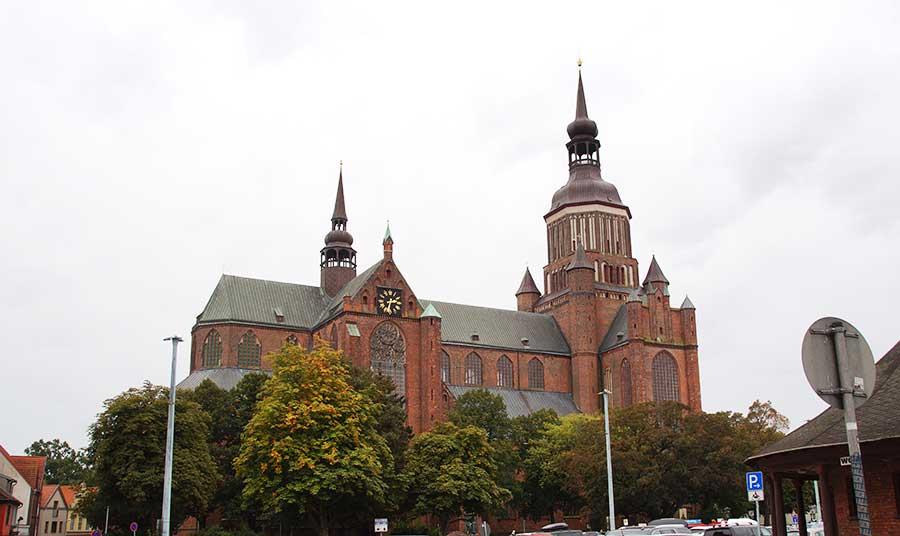Eine der bekanntesten Sehenswürdigkeiten in Stralsund