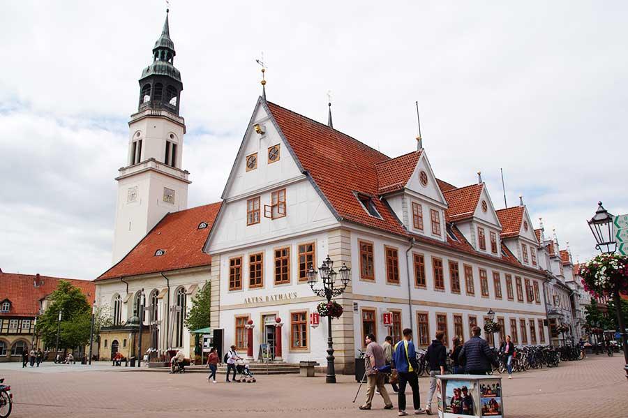 Rathaus in der altstadt von Celle