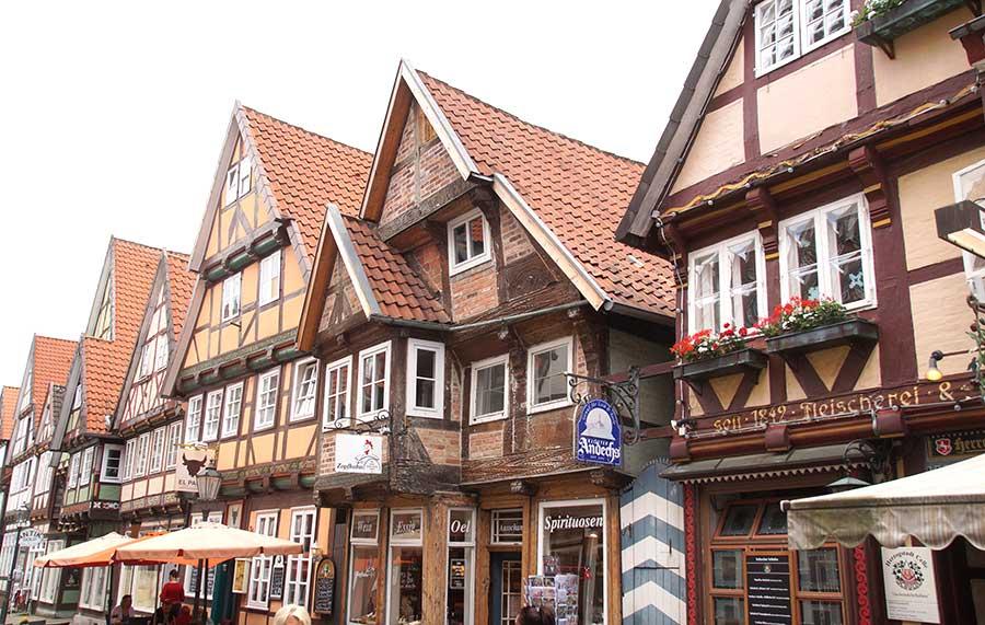 Fachwerk in der altstadt von Celle
