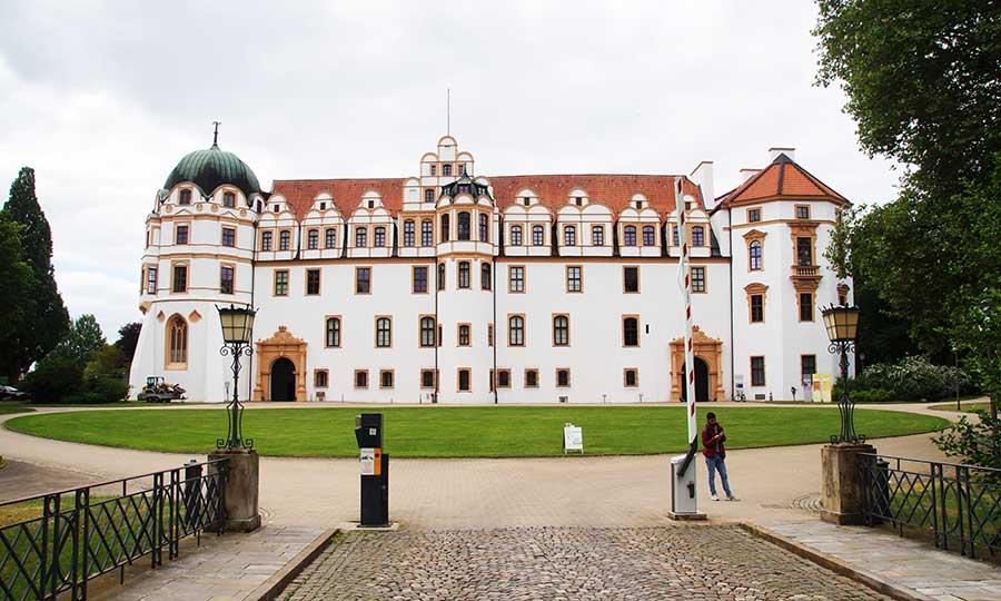 Das Schloss gehört zu den Sehenswürdigkeiten in Celle