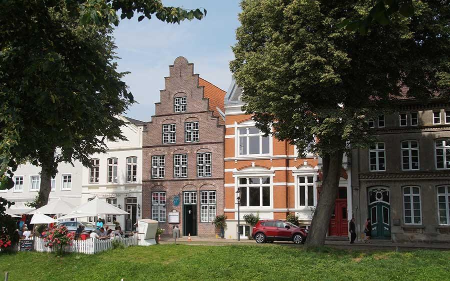 Holländerstadt Friedrichstadt in Nordfriesland